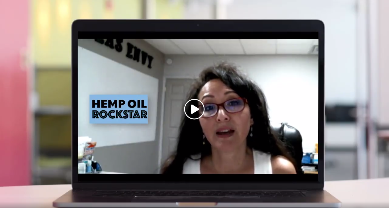 Mary Carter, Hemp Oil Rockstar, Hemp Day 1