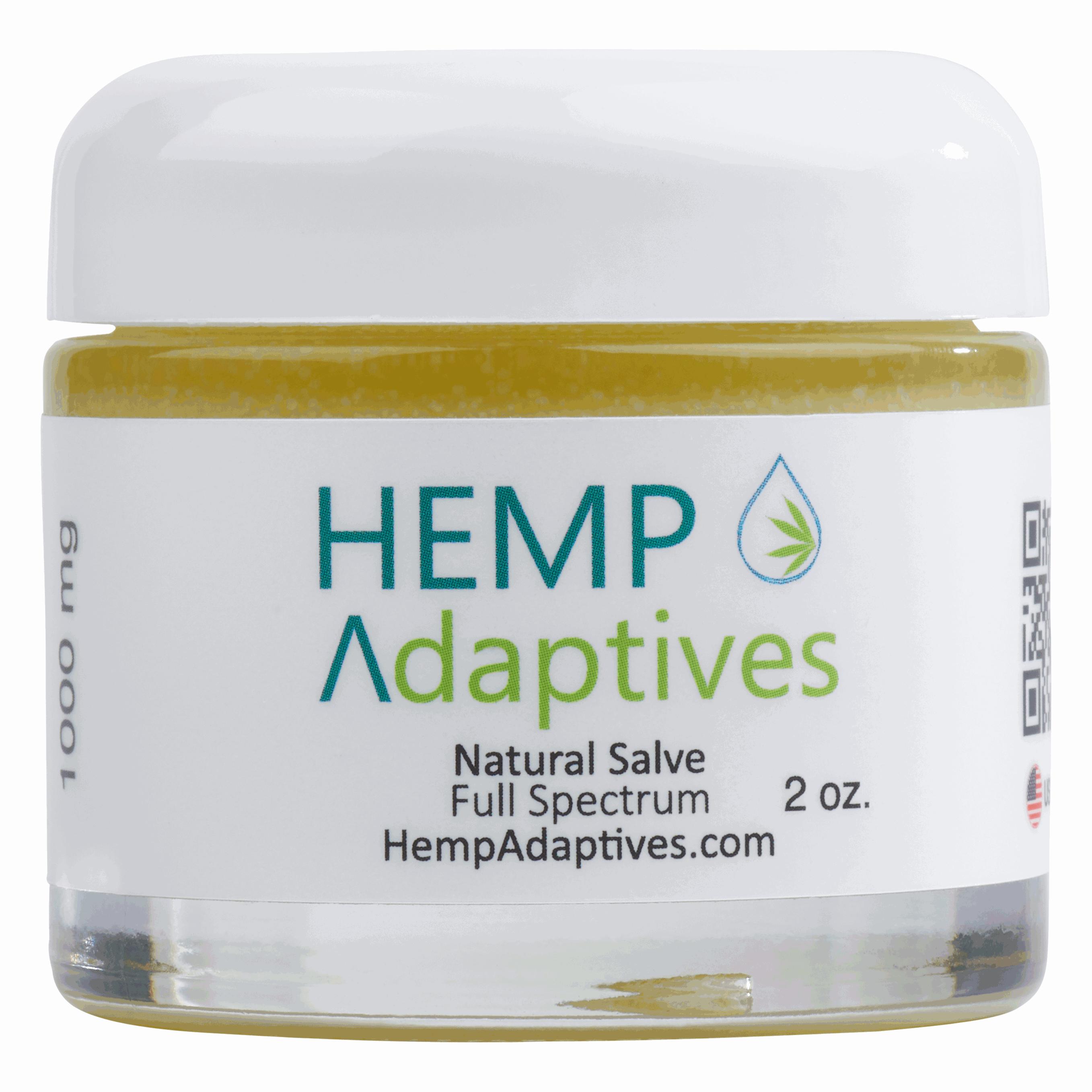 Hemp Adaptives 1000mg CBD Full Spectrum Salve - Ultra Premium