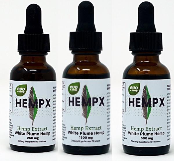 Evo Hemp Drops Hemp Oil Extract with CBD Full Spectrum