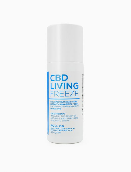 CBD Living Freeze Roll On Pain Relief