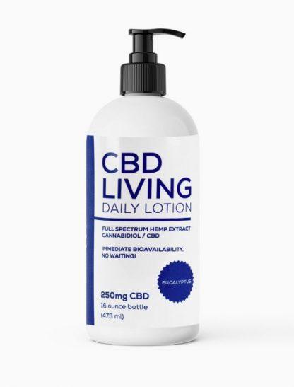 CBD Living Lavender Lotion