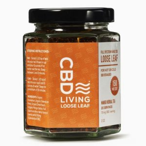 CBD Living Herbal Tea - Mango Loose Leaf