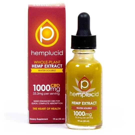 Hemplucid CBD Water Soluble