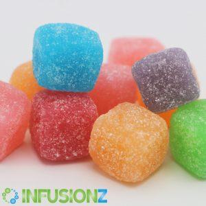 CBD Infusionz Sour Cubes Gummies