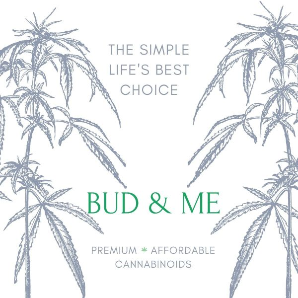 Bud and Me Isolate CBD Drops