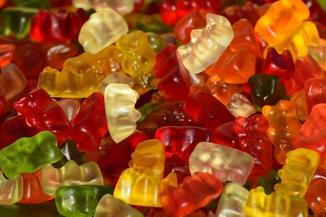 CBD rich Gummy Bears and other cannabis edibles