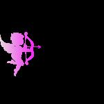 hot pink Cupid Hemp Logo